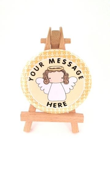 Angel badge available
