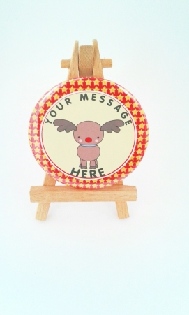 Rudolph badge available