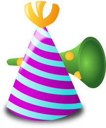 BIRTHDAY TRUMPET